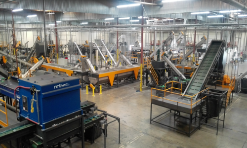 PE, PP, HIPS RIGID MATERIAL RECYCLING LINE