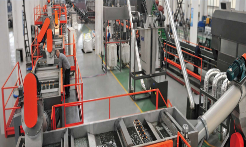 PET BOTTLE TO BOTTLE RECYCLING LINE